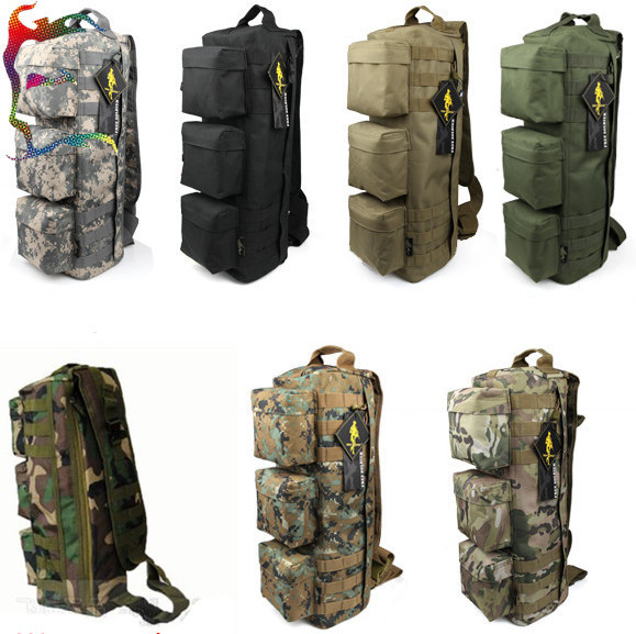 Whole Man Camo Military Messenger Bag Pack Airborne Canvas Tactical Shoulder Inclined Travel Mountain Cities