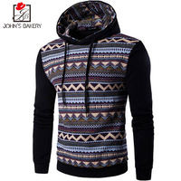 John S Bakery Brand 2017 New Hoodies Brand Men Color Splicing Sweatshirt Male Hoody Hip Hop