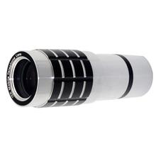 Big discount 12X Optical Zoom Telescope Camera Lens Tripod Case Kit For Apple Phone 6 Plus