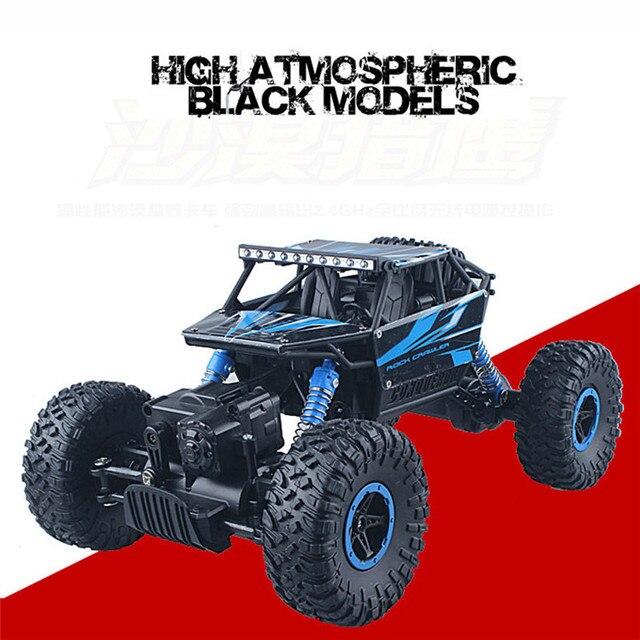 Горячая RC Автомобиль 2.4 Г Рок Гусеничный Bigfoo 1/18 2.4 ГГЦ 4WD Радио пульт дистанционного Управления Off Road RC Автомобилей ATV Багги Monster Truck Модель игрушка