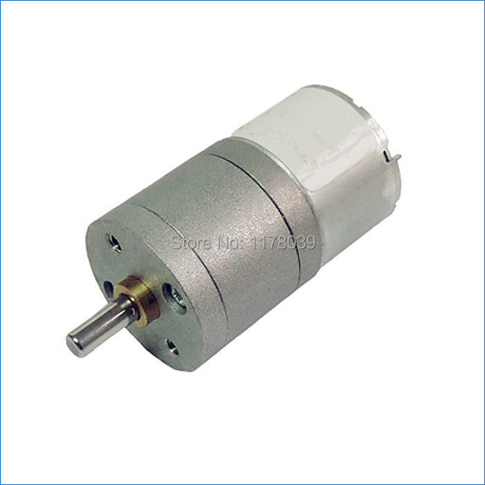 Micro Dc Gear Motor 6v 12v Gear Motor Small Electric Motors Electric Motor Speeds Free Shipping