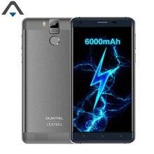 Original Oukitel K6000 Pro 4G LTE FHD cell Phone Android 6.0 5.5 inch Octa Core 3GB RAM 32G ROM 6000mAh Fingerprint smart phone