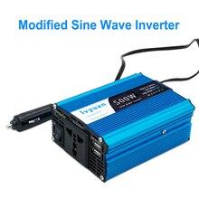 500 Вт/1000 Вт автомобильный преобразователь мощности 12 В постоянного тока в переменный ток 220 В модифицированная Синусоидальная мощность с выходом USB 5 в автомобильный Стайлинг и автомобильное зарядное устройство