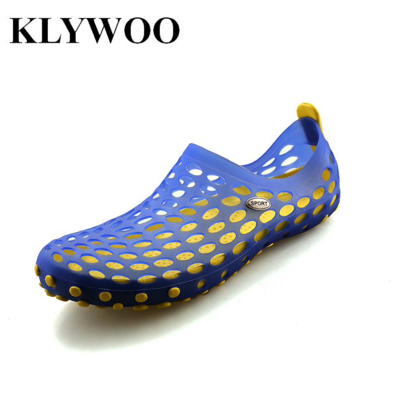 Hot Sale New Fashion Men Sandals Slides Slip-on Casual Summer Beach Shoes Flats For Mens Causal Shoes Breathable Comfortable