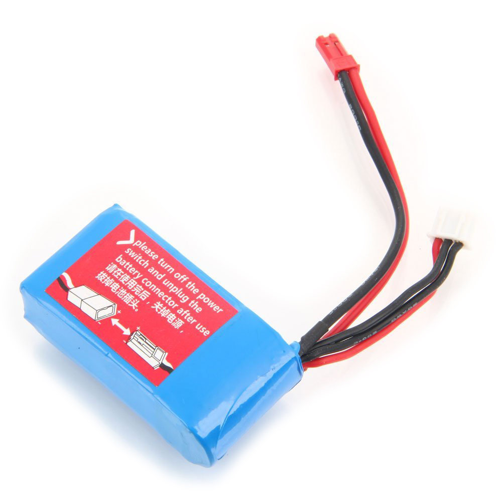CES-7.4V 1100mAh Li-Po Helicopter Battery for WLtoys A949/959/969/979 V912/913 V262/959 T23/55 F45 Spare Part Rrpalcement Blue