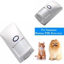 NEW 433 MHz 1527 Code Wireless Pet Immune PIR Motion Detector Sensor