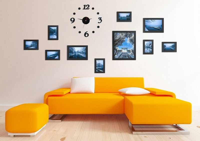 Wall Decor Frames wall picture frames. . . wall picture frames 10pcs combination