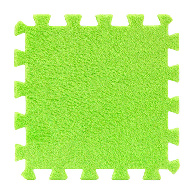 Mode 6 Stck EVA Eco Puzzle Teppich Mosaik Fliesen Wohnzimmer Kissenkissennacht Bad Boden Pad Splice Krabbeldecke Kinder