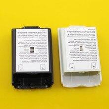ChengHaoRan [100 pcs/lot] Schwarz & Weiß Optional Kunststoff Batterie Pack Batterie Abdeckung Fall Ersatz für Xbox 360 reparatur Teile