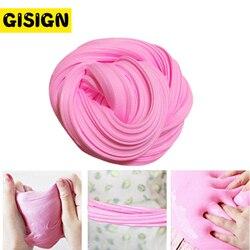 Colorido mullido Floam Slime espuma cuentas suministros antiestrés algodón arcilla magia arena juguete inteligente plastilina para niños