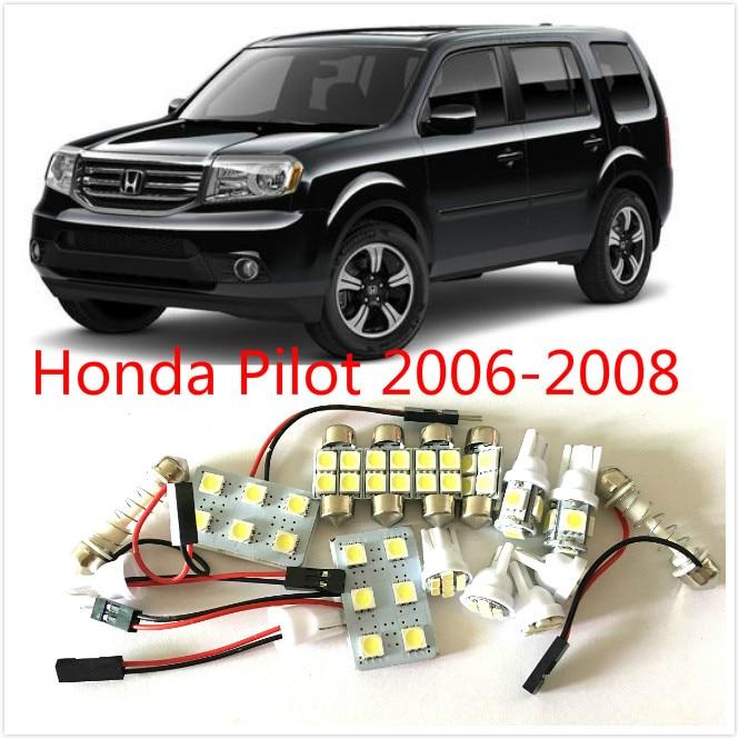 12pcs White Led Lights Interior Package Kit For Honda Pilot 2006 2008