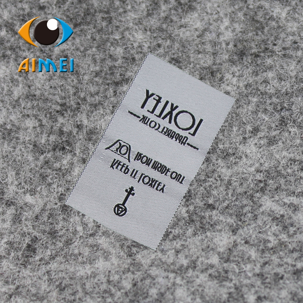 Design t shirt label - Free Design Free Shipping Customized 200pcs Lot Cotton Casual Women Or Men Clothing Labels Woven Labels Main Labels Sl040