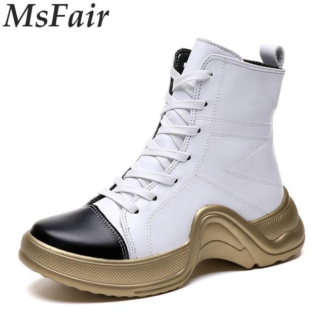 MSFAIR 2018 otoño zapatos corrientes de las mujeres al aire libre respirable Athletic mujer marca zapatillas Jogging mujer Zapatillas