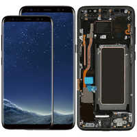 Original S8 Plus LCD avec cadre pour Samsung Galaxy S8 G950F écran S8 Plus G955F AMOLED écran tactile numériseur