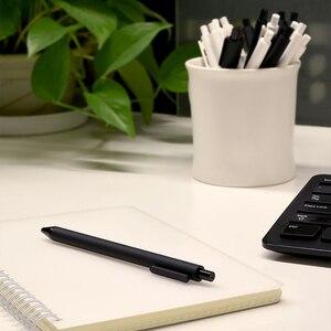 Image 5 - Xiaomi Mijia KACO ג ל עט 0.5mm שחור צבע דיו מילוי ABS פלסטיק עט לכתוב אורך 400MM בצורה חלקה Writting עבור משרד מחקר