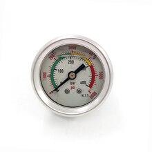400bar / 6000psi PCP Hand Air Pump Manometer  Double-Range High Pressure Gauge  M10*1.0