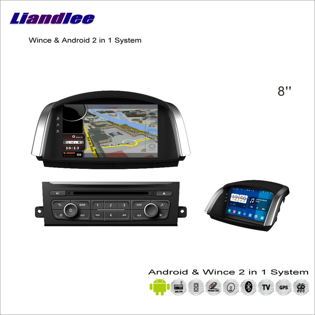 Liandlee Android Multimedia Stereo For Renault Koleos / For Samsung QM5 2007~2015 Radio CD DVD Player GPS Navigation Audio Video