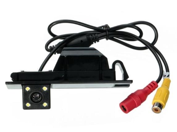 Nightvision 4 LED SONY CCD Chip Car Rear View Reverse CAMERA for OPEL Astra H/Corsa D/Meriva A/Vectra C/Zafira B,FIAT Grande