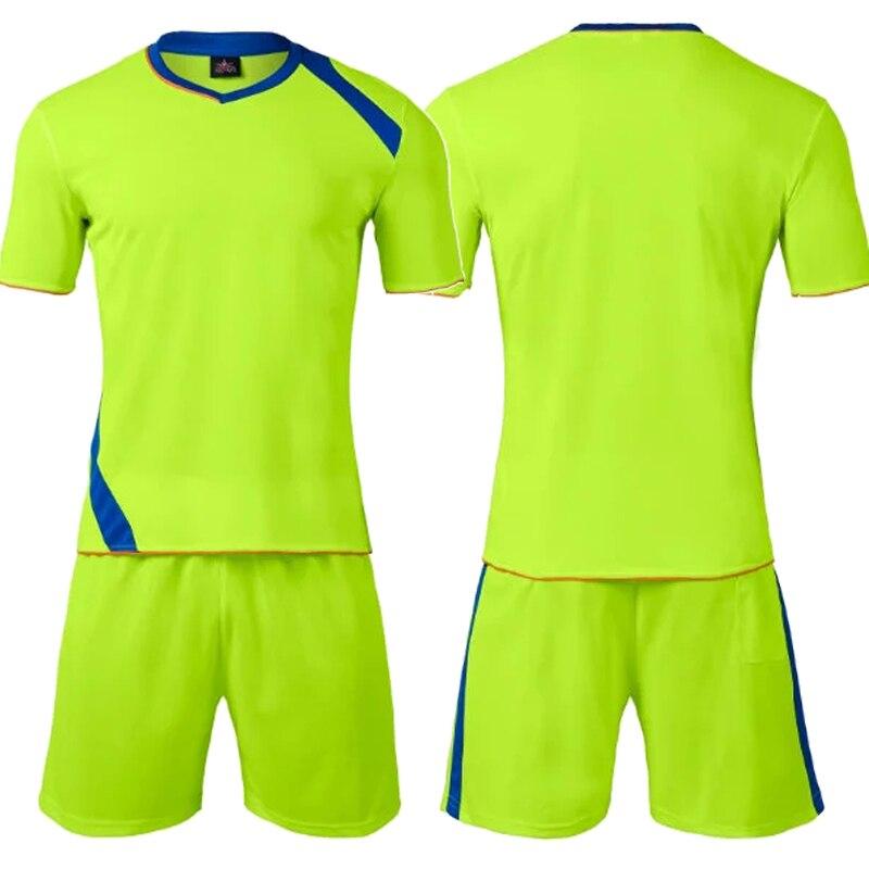 6df48cdc7e4 2018 2019 Tracksuit Mens Soccer Jerseys Set Maillot De Foot Adult Futbol  Training Shirts Shorts Uniforms Sportswear L 3XL-in Soccer Sets from Sports  ...