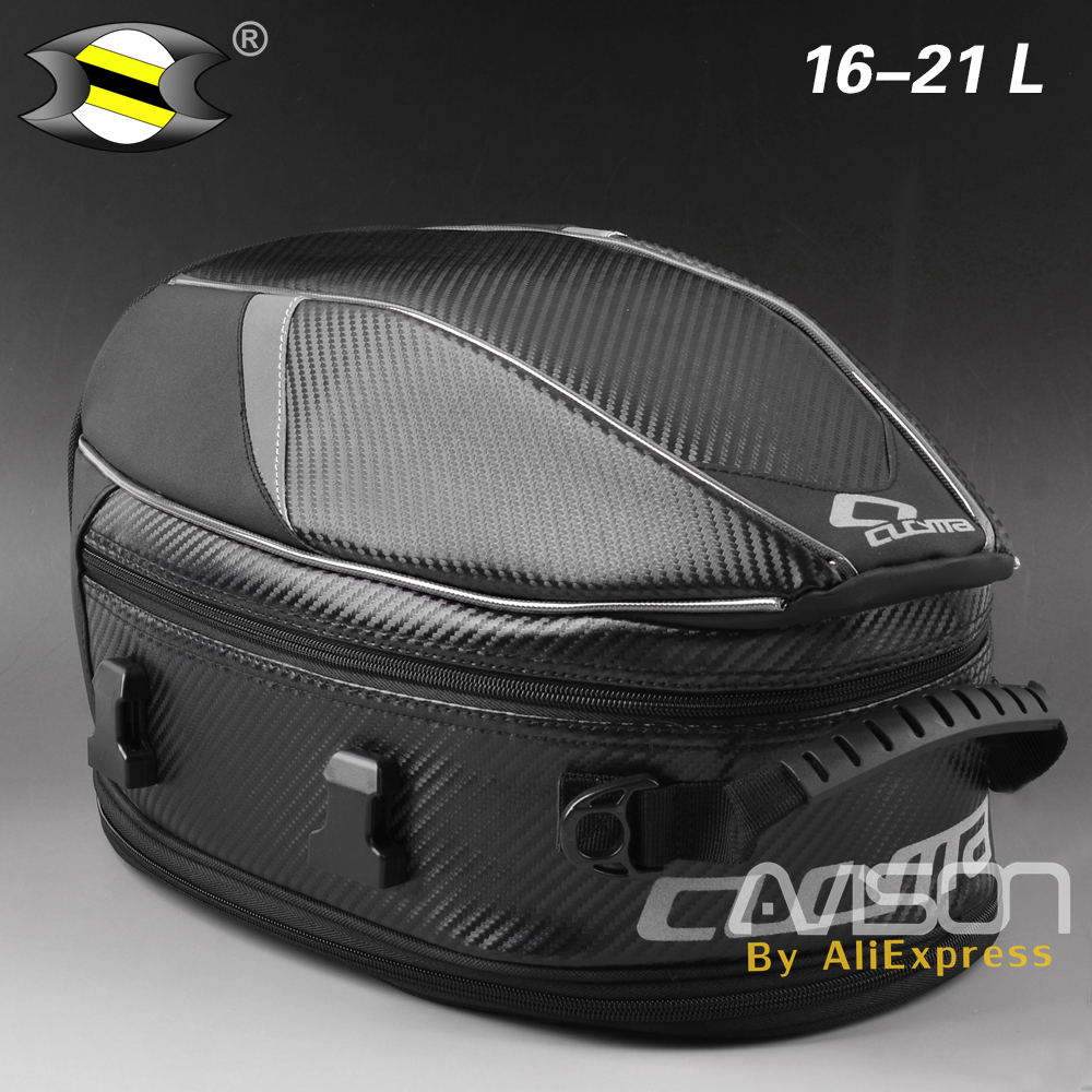 Motorcycle Tail Bags Waterproof Back Seat Bags Kit Travel Bag Motorbike Scooter Sport Luggage Rear Seat Rider Bag Pack