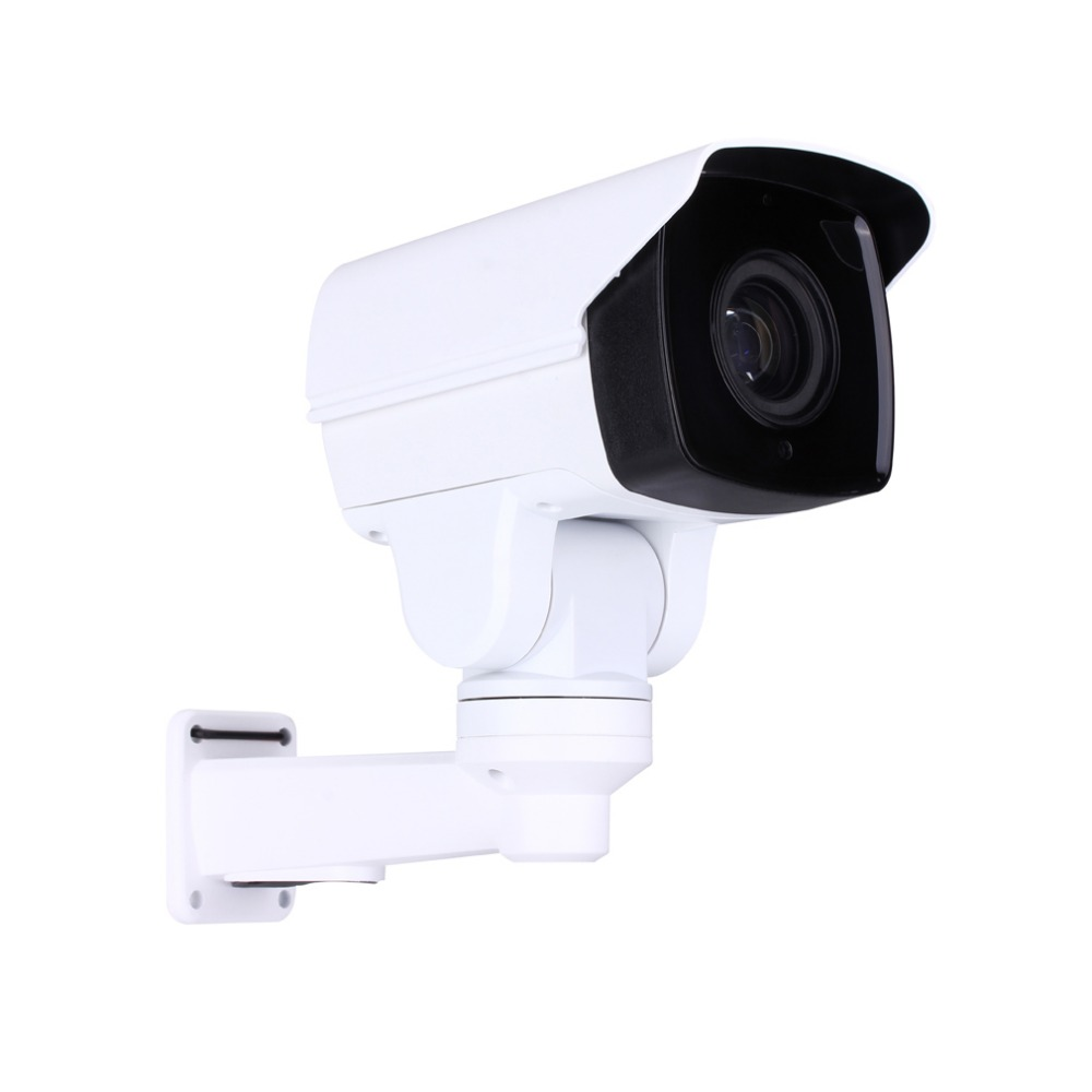 Security Rotary Bullet MINI PTZ IP Camera with Onvif 1080P CCTV 4 10X ZOOM IR 80M