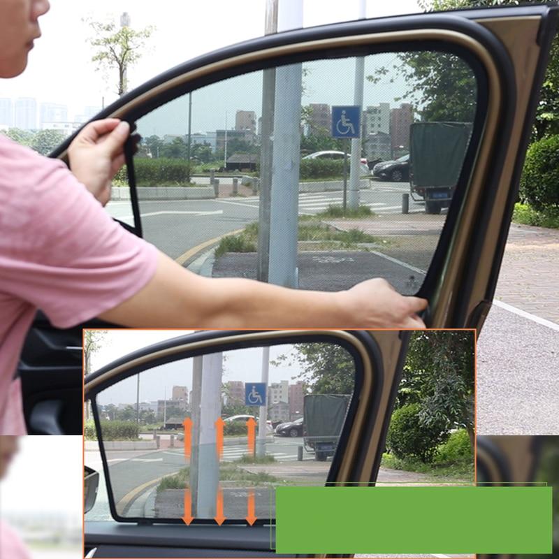 Lsrtw2017 Car Window Sun Shade Heat Insulation Net for Skoda Kodiaq Karoq in Interior Mouldings from Automobiles Motorcycles