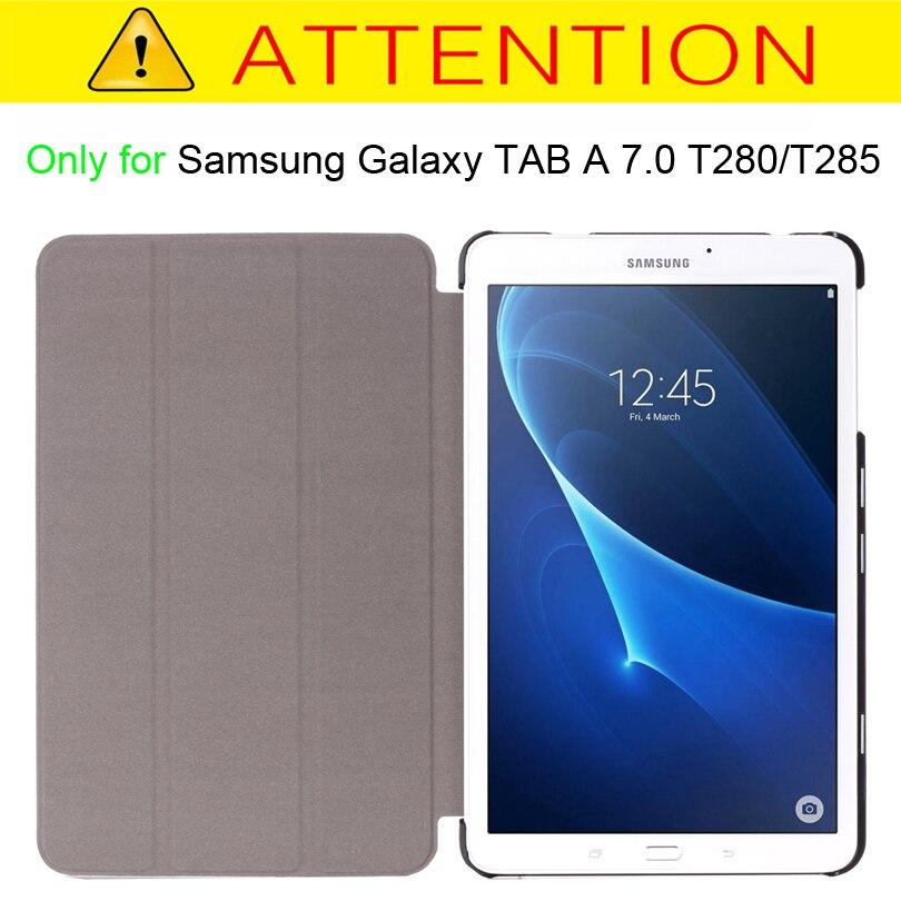 Funda con tapa para Samsung Galaxy TAB A 7 T280 T285 7 pulgadas Funda - Accesorios para tablets - foto 2