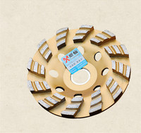 Diamond Grinder Cup Wheel 100mm Grinding Discs Tools For Concrete Marble Granite Ceramics