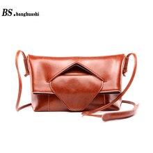 New natural cowhide handbag fashion shoulder bag leather messenger bag brand women messenger bag Shop Crossbody Bags