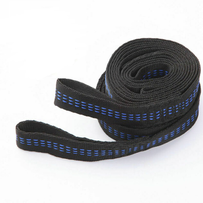 2pcs Hammock Strap 200cm Tree Hanging Spare Part Outdoor