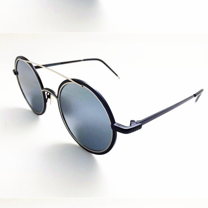 Vintage Original Box Grey Tb108 Für Superstar Sonnenbrille Brown black Mode Männer York Sliver Grey Runde 2017 Frauen Brown Heißer Mit grey New black OnqwAxX7
