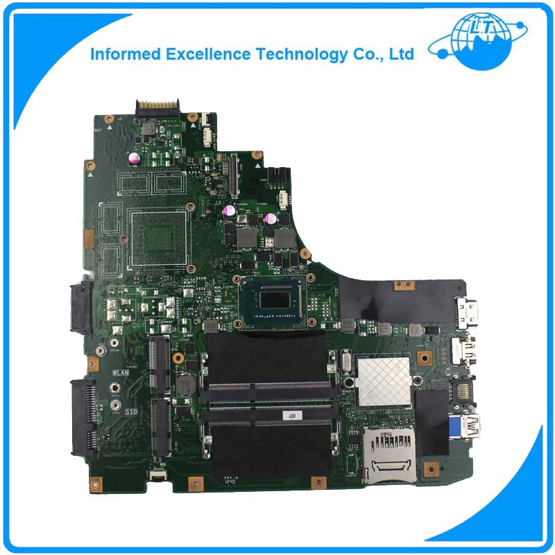 For Asus K46CA K46CM Laptop Motherboard With I5 CPU REV.2.0 Mainboard 100% Fully Tested Free Shipping for asus ux31a ux31a3 laptop motherboard with i5 3517u cpu fully tested rev 4 1 top mainboard