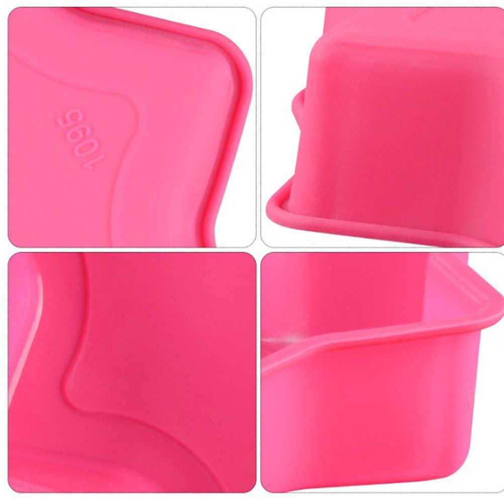 Star รูปร่างเค้กแม่พิมพ์เค้ก Liner ซิลิโคนนำกลับมาใช้ใหม่เบเกอรี่เค้กเครื่องมือห้องครัวอุปกรณ์เสริม (สีสุ่ม)