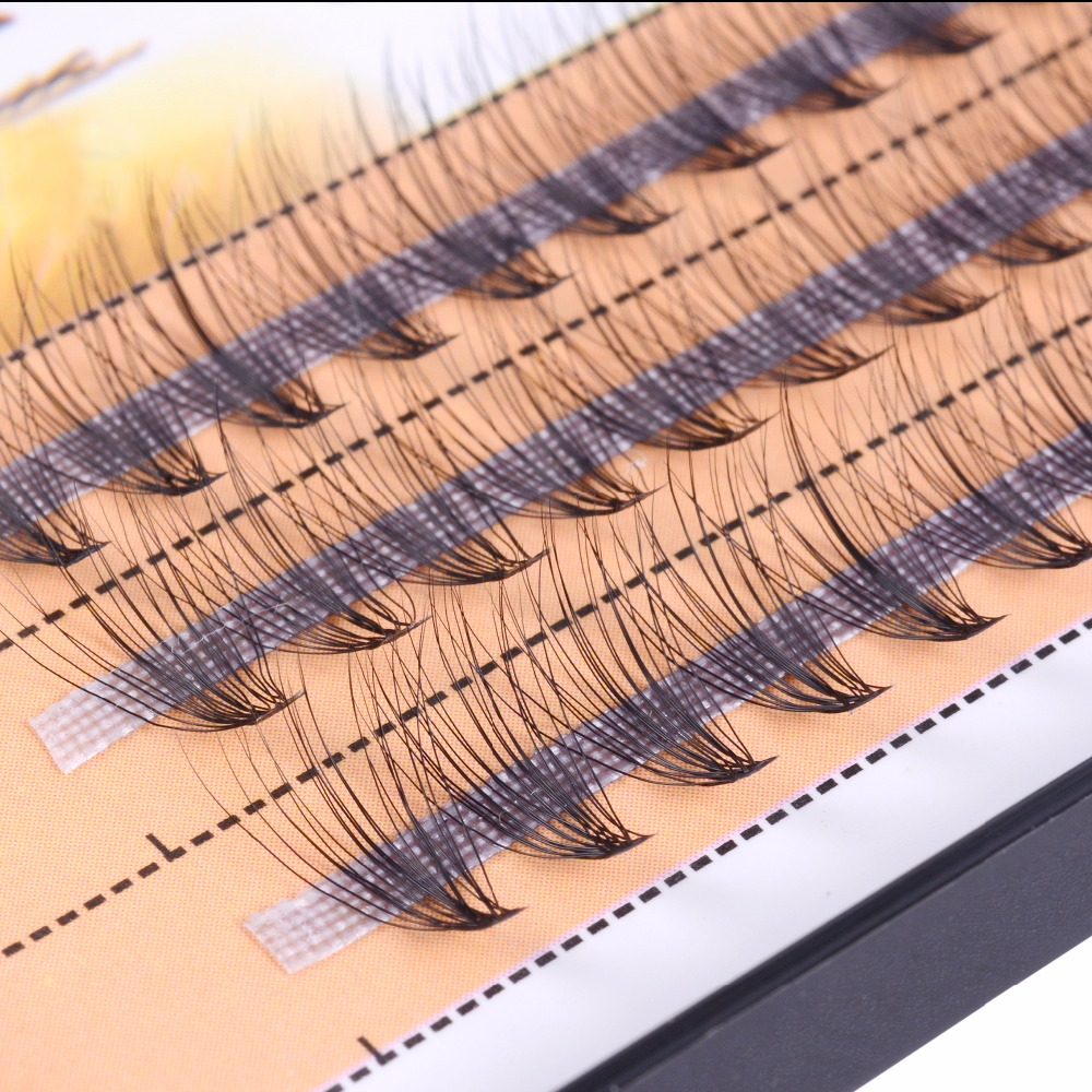 Hot Sale Grafting Hot Melt 20 0.10 Hair Grafting False Eyelashes Single Cluster Planting Eyelashes Natural Mink Hair Silk Lashes