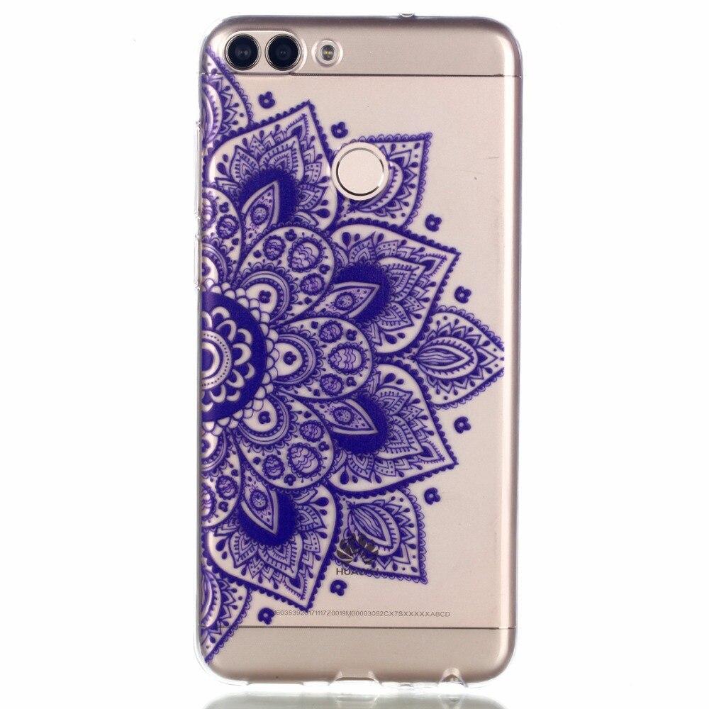 Для huawei наслаждаться 7 s чехол силиконовый чехол для huawei P Smart Капа Coque Fundas прозрачный телефон Сумки PSmart 5,65