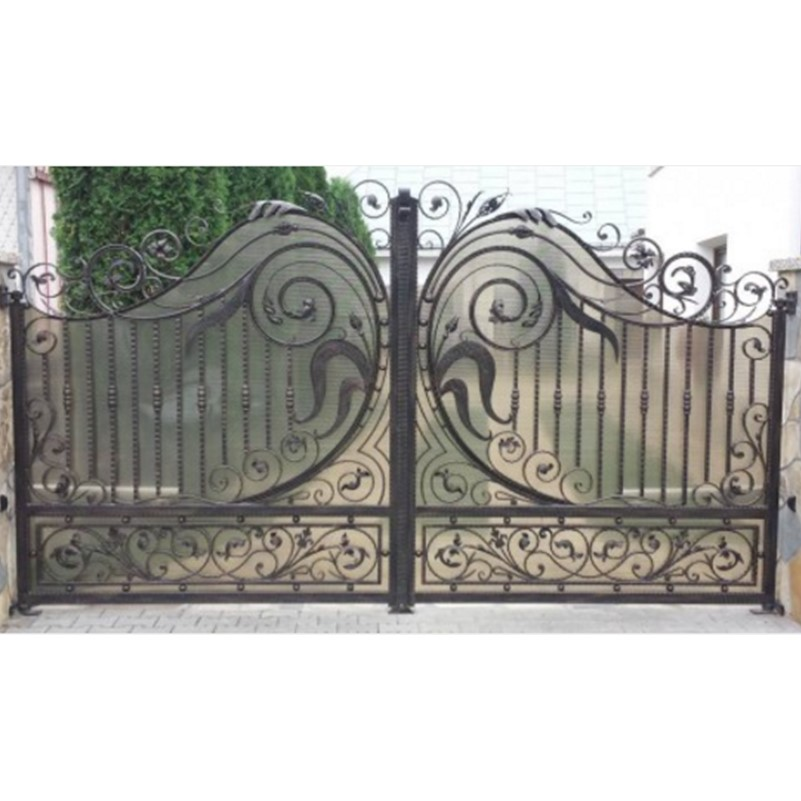 Hench Custom Made Wrought Iron Gates Design