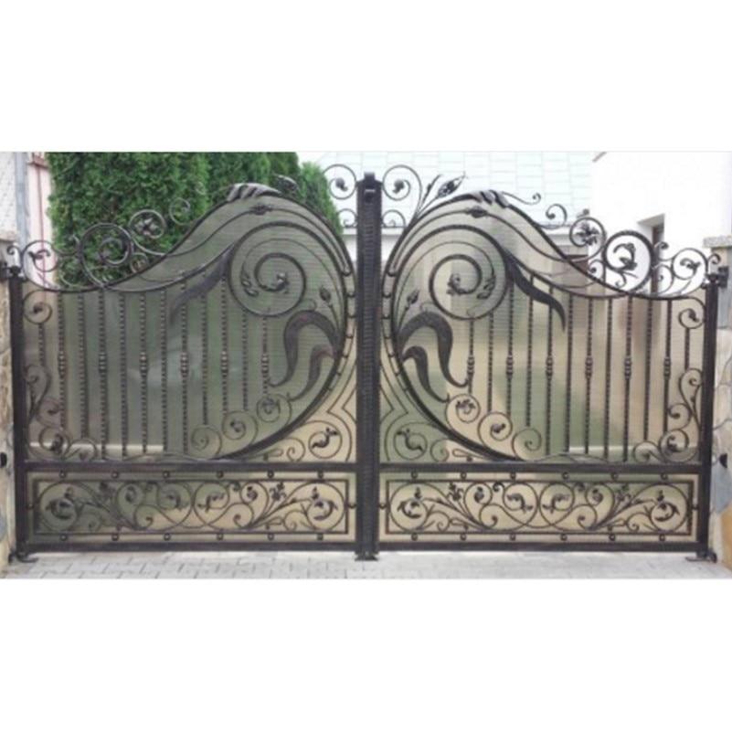 Hench Custom Made Wrought Iron Gates Design