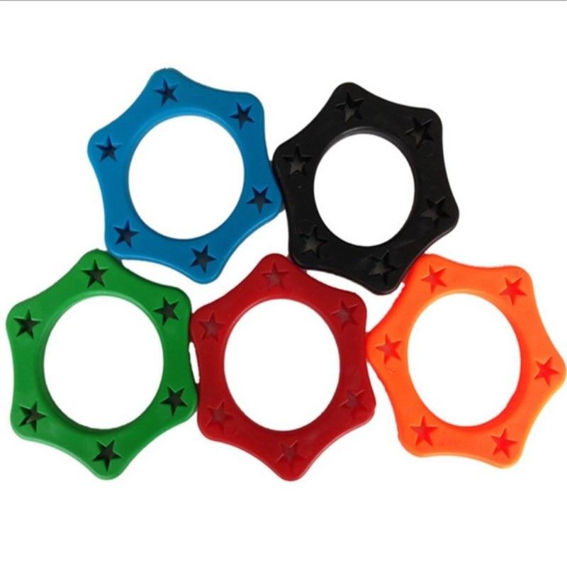 5 шт. резиновые противоскользящие роликовые кольца защита для ручного беспроводного микрофона милый мини Противоскользящий рукав