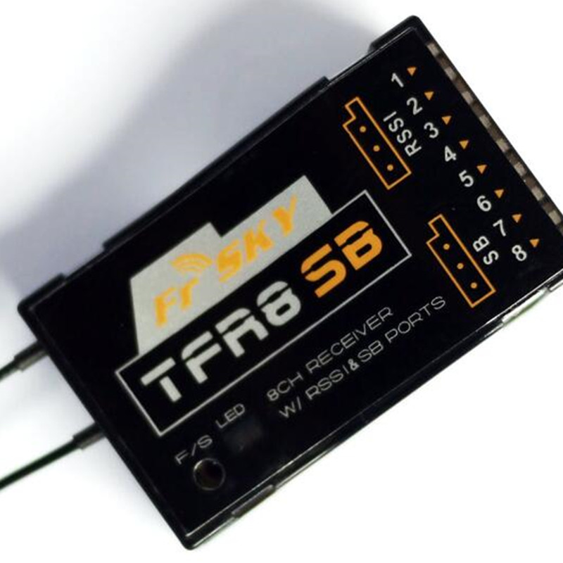 Tarot-RC Frsky TFR8SB 8/16CH Compatible For FASST Receiver With RSSI&SB Port frsky tfr6 a 7ch fasst compatible receiver for rc multicopter