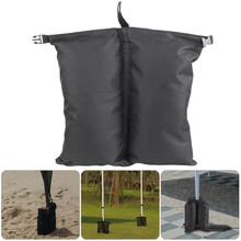 Outdoor Camping Canopy Weight Sand Bags Windproof Shelter 2Pc Practical Durable Sanbags Tent Accessories Fix Sandbag Leg