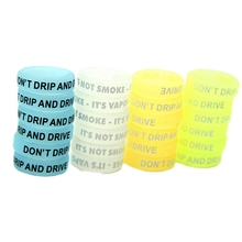 Antideslizante cigarrillo electrónico banda anillo de silicona pluma mod mecánica Protección decorativa