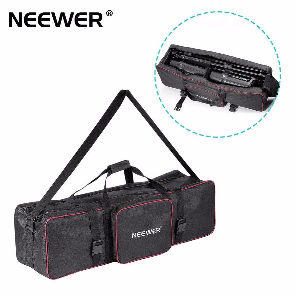купить Neewer 30inchx10inchx10inch / 77cmx25cmx25cm Photo Video Studio Kit Large Carrying Bag for Light Stand Umbrella по цене 2547.66 рублей