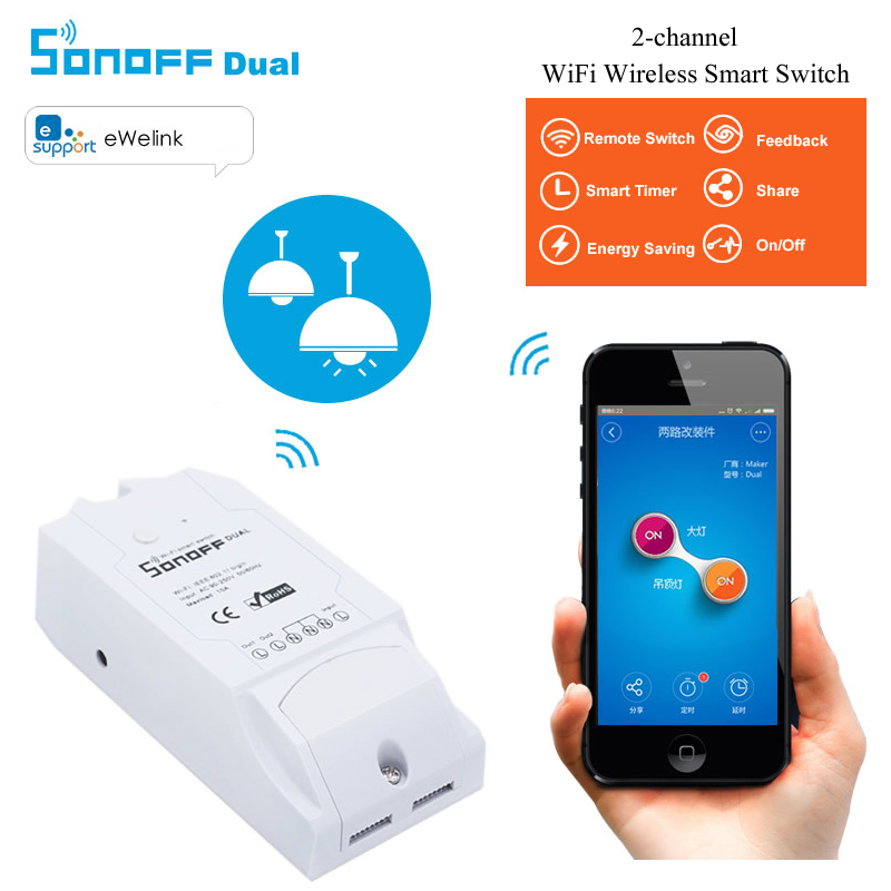 10A SONOFF Alexa Wireless