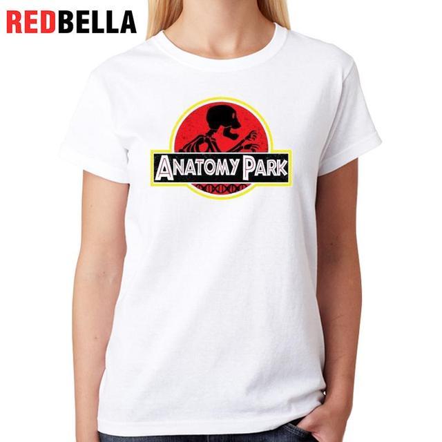 Redbella Women Ulzzang T Shirt Jurassic Park Printed Fashion