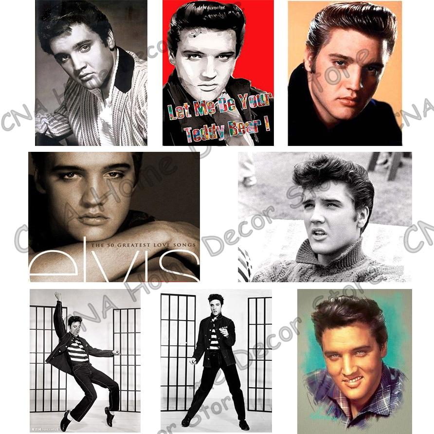 Elvis Photo Full Drill Mosaic Rhinestone 5D DIY Алмаз - Өнер, қолөнер және тігін - фото 2