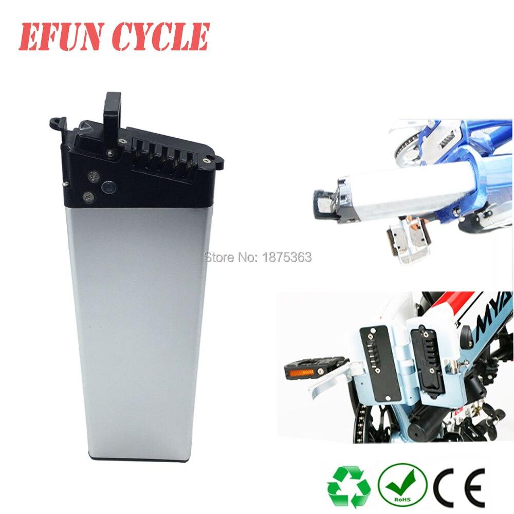 Livraison gratuite batterie de vélo pliante haute puissance 48 V 9Ah Li-ion 18650 batterie rechargeable pour pliage ebike/femmes ebike