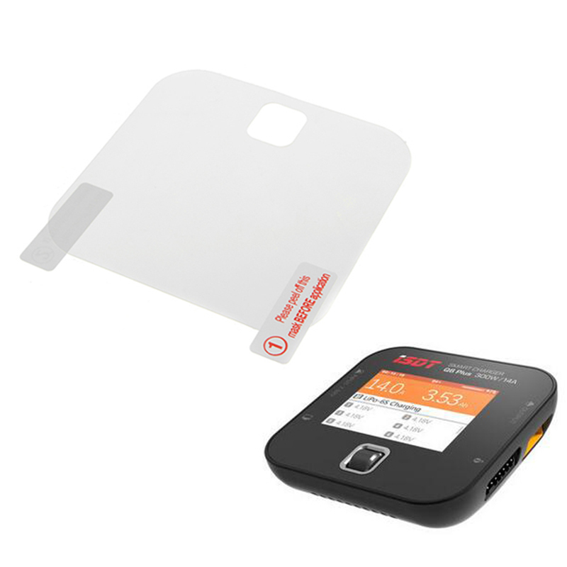 2PCS ISDT SC620 SC608 Q6 Plus Balance Charger Screen Protective Definition Film Anti-scratch Dustproof Film To Protect Screen