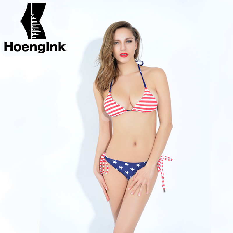 2018 Brandman American style female sexy bikini simple beach two-piece swimming pool swim suit size S to XXL 66118