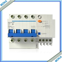 Free Shipping 4P 50A DZ47LE Residual Current Circuit Breaker Earth Leakage Circuit Breaker