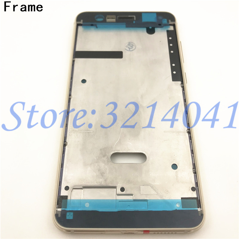 Image 4 - Full Housing For Huawei P10 Lite LCD Front Frame+Glass Back Battery Cover+Housing Middle Frame Adhesive Sticker+Buttons-in Mobile Phone Housings & Frames from Cellphones & Telecommunications on